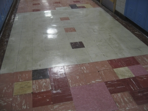 Now exactly what was the original tile color?