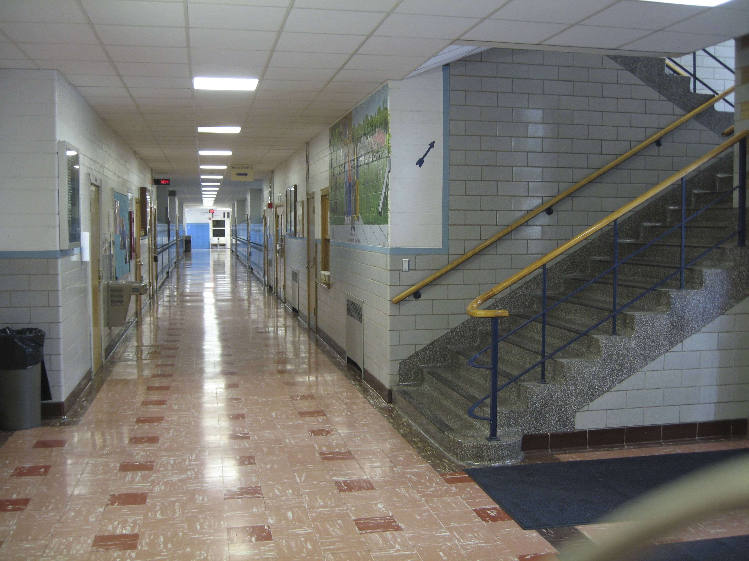 school hallway background - photo #29