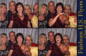 The Photo Booth was a hoot!  Tommy took full advantage of it!