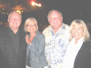 Mini Reunion in Los Angeles at Pasadena Pops -  Harry Domicone, Garnette Gillaim, Sam Thomasson, and Linda Large